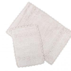 Набор ковриков Irya – Waltz bej бежевый 60×90|40×60