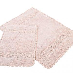 Набор ковриков Irya – Waltz pembe розовый 60×90|40×60