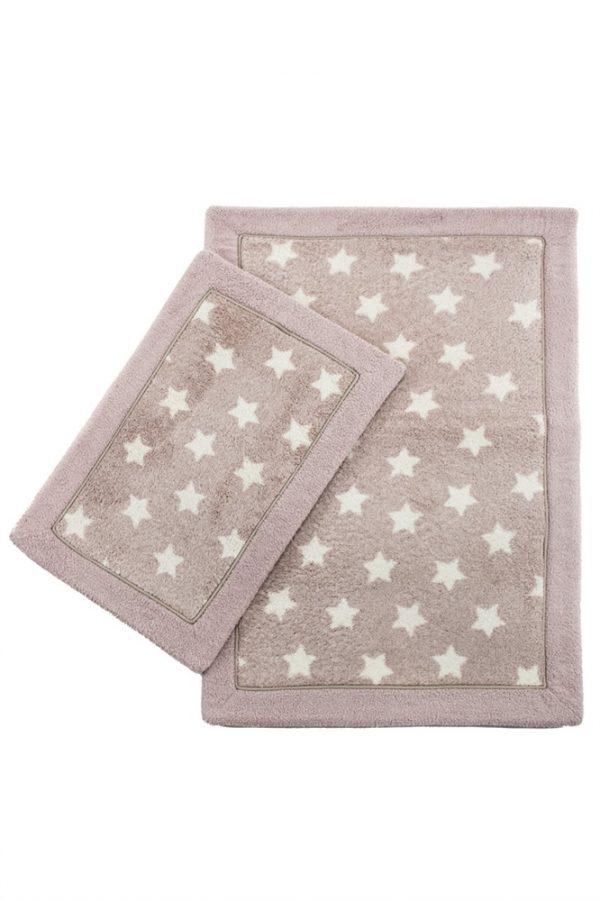 купить Набор ковриков Lux Suffy Yildizli G.Kurusu 40x60|60x90