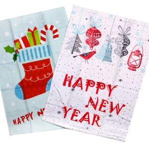Набор кухонных полотенец  New Year V4 40×60 (2 шт)см