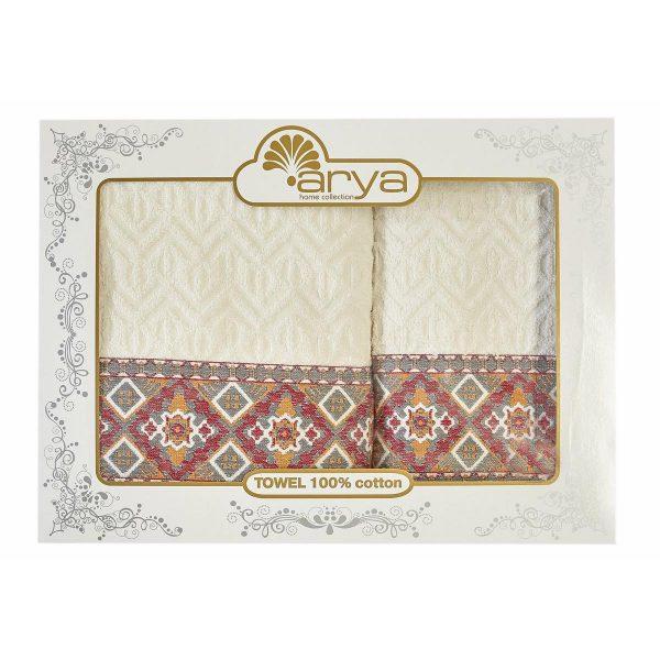 купить Набор полотенец ТМ Arya 50x90-70x140 2 шт. Etnic 50x90|70x140