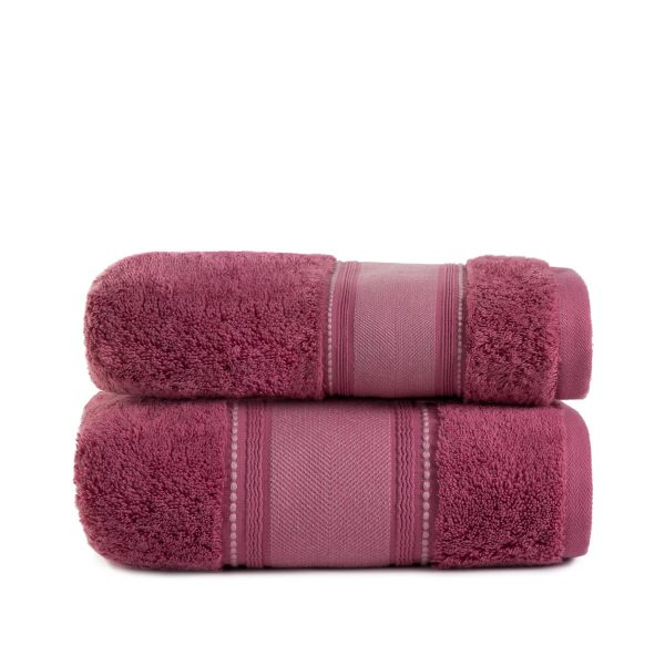 купить Полотенце махровое ТМ Arya Trey розовое