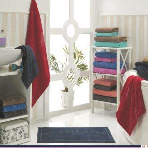 купить Набор 4 полотенца и коврик U.S.Polo Assn - Bradenton blue 50x100|70x140