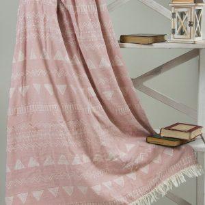 купить Плед микроплюш Barine - Chalkboard Throw Pink 130x170