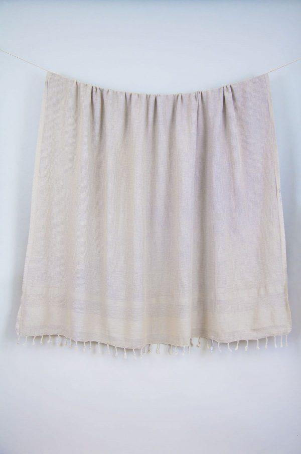 купить Плед-накидка Barine - Stone Throw beige 140x170