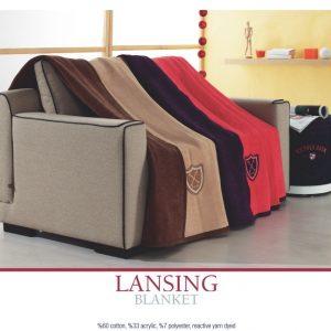 купить Плед хлопковый U.S.Polo Assn - Lansing 200x220