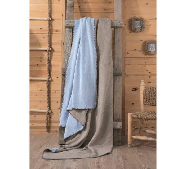 купить Плед Cotton Box Vizon Mavi 200x220