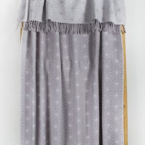 Плед Lotus Mono – Like лиловый 135×175