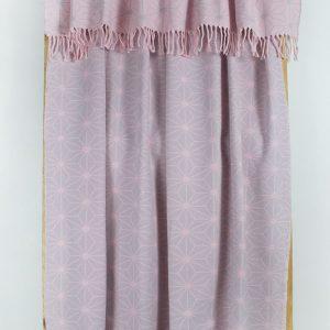 Плед Lotus Mono – Like розовый 135×175