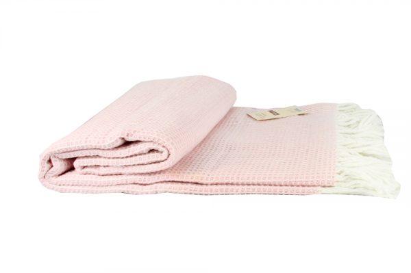 купить Плед Vladi Валенсия-Верона розовый 140x200