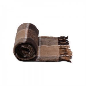 Плед Vladi Palermo коричневый 140×200