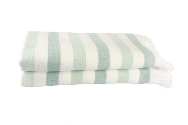купить Пляжное полотенце STRIPE 70x140см голубое