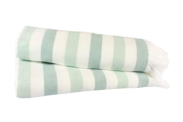купить Пляжное полотенце STRIPE 70x140см зеленое