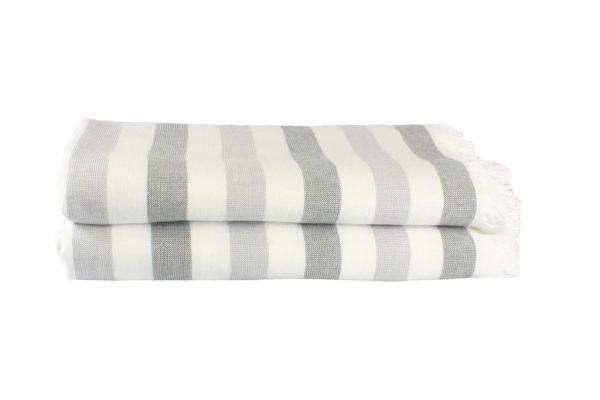 купить Пляжное полотенце STRIPE 70x140см серое