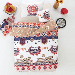 Подростковое постельное белье Arya Athletic Оранжевый 160×220