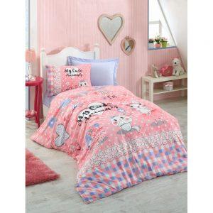 купить Подростковое постельное белье Cotton Box ANIMALS PEMBE 160x220