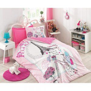 купить Подростковое постельное белье Cotton Box Best Friend Pembe 160x220