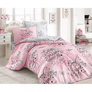 купить Подростковое постельное белье Cotton Box FEELING PEMBE 160x220