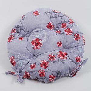 купить Подушка на стул Lotus круглая  Osaka красный 40 см. диаметр