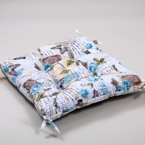 Подушка на стул Lotus Juliana с завязками 45×45