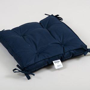 купить Подушка на стул Lotus Optima с завязками синий 40x40+5