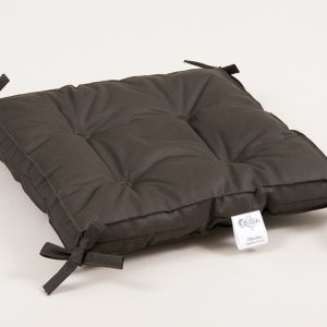 купить Подушка на стул Lotus Optima с завязками хаки 40x40+5