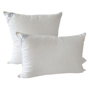 купить Подушка 30% пуха SoundSleep Love белая