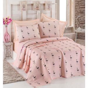 купить Покрывало пике Eponj Home Flamingo pudra