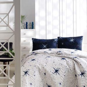 Покрывало стеганное с наволочками Eponj Home – MegaStar beyaz