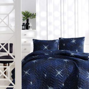 Покрывало стеганное с наволочками Eponj Home – MegaStar lacivert