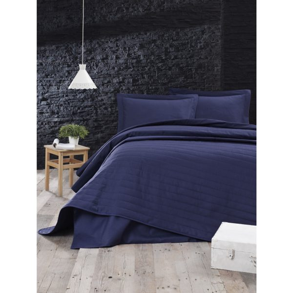 купить Покрывало стеганое Eponj Home - Monart lacivert 220x240