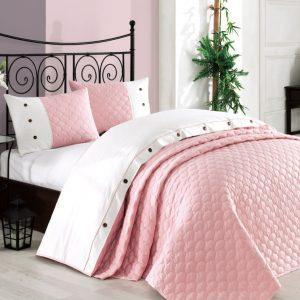 купить Покрывало с наволочками Halley Orient розовый 240x260