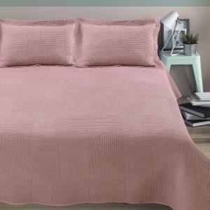 купить Покрывало Arya Стеганное Elexus Розовый