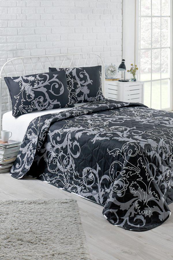 купить Покрывало Eponj Home B&W Mare черный 200x220