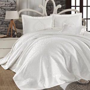 купить Покрывало Fiirst Choice sonil (шенилл) frida beyaz 240x260
