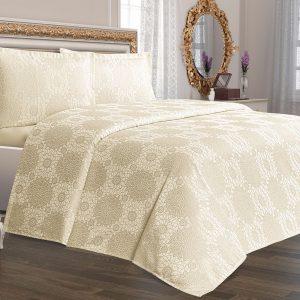купить Покрывало Tropik Home Amore Cream 220x230