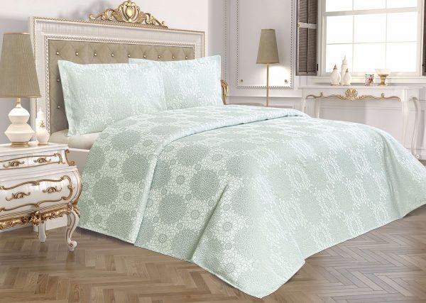 купить Покрывало Tropik Home Amore Mint 200x220
