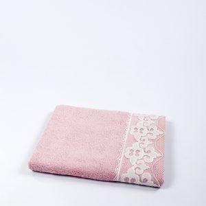 купить Полотенце бамбуковое Maxstyle - Damask pink 50x90