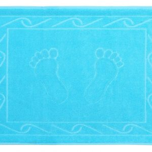 купить Полотенце для ног Hayal 50x70см голубое