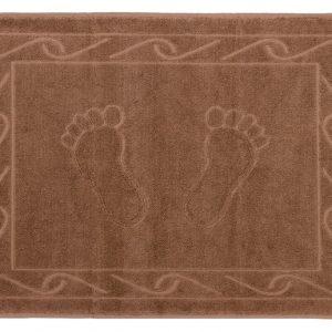 Полотенце для ног Hayal 50×70см коричневое 2