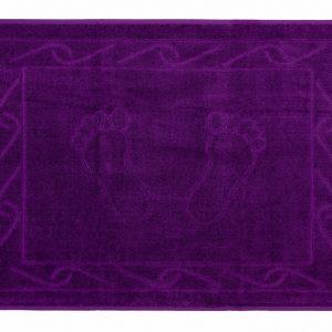 Полотенце для ног Hayal 50×70см фиолетовое