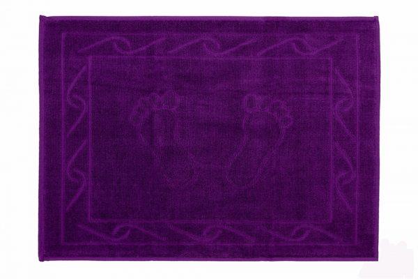 купить Полотенце для ног Hayal 50x70см фиолетовое