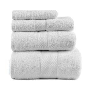 купить Полотенце махровое ТМ Arya Однотонное Miranda Soft Белое