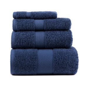 купить Полотенце махровое ТМ Arya Однотонное Miranda Soft Синее