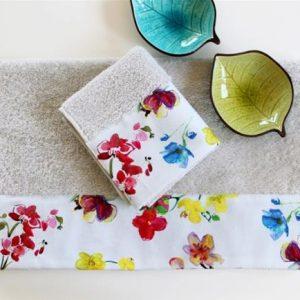 купить Полотенце махровое Barine - Flower Breeze 50x90