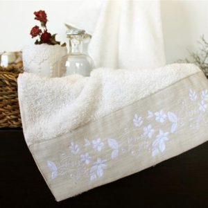 купить Полотенце махровое Barine - Petite ecru