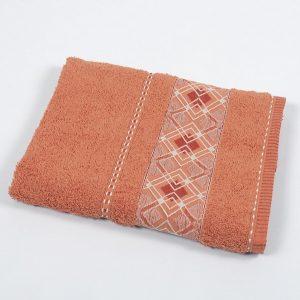 Полотенце махровое Binnur – Vip Cotton 07 orange