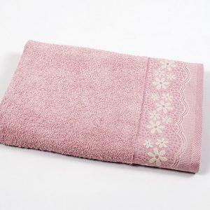 купить Полотенце махровое Binnur - Vip Cotton 11 розовый