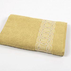 купить Полотенце махровое Binnur - Vip Cotton 12 желтый