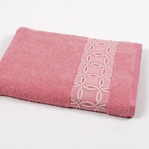 купить Полотенце махровое Binnur - Vip Cotton 12 розовый